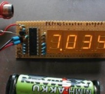 50MHz 7 segment frequency counter using PIC16F877A