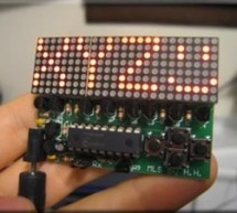 How to drive an led display matrix using PIC16F88