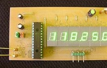 2.5 GHz Frequency counter using PIC16F870