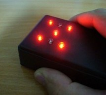 Motion Activated Led Dice using PIC16F688