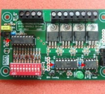 4 Channel DMX512 Driver for PIC16F1823