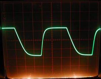 100KHz Square Wave