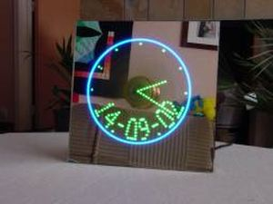 Analog & Digital propeller clock