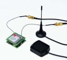 Localizer with SIM908 module using PIC18LF6722
