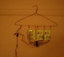 Naked Clock using PIC16F877 Microcontroller