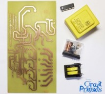 PIC Controlled Relay Driver using PIC16F84A
