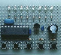 LED flasher using PIC16C84 Microcontroller