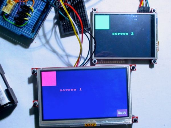 Serial LCD Library