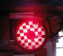 Bicycle Persistence of Vision Light Display using PIC16F84