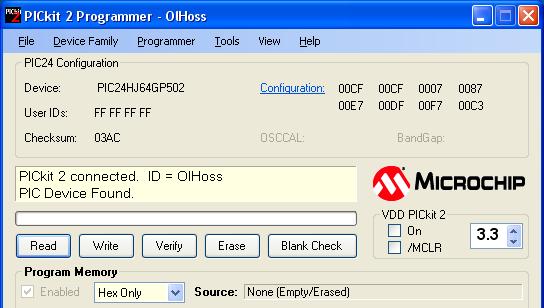 PICkit 2 Programmer OIHoss