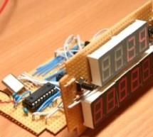 PIC12F675 based digital clock using LCD display (Code + Proteus simulation)