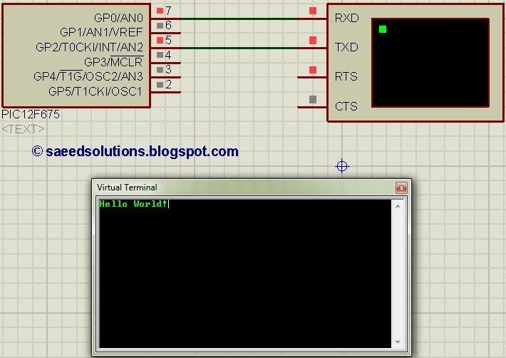 Pic Uart Interrupt Example