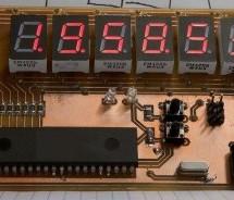 6 Digits LED 7-Segment Multiplexing using PIC16F627A