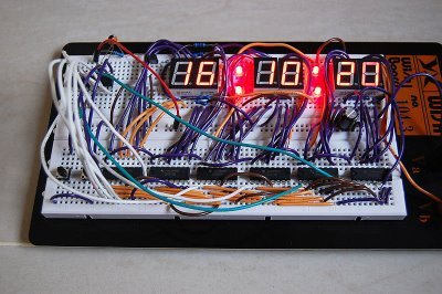 Digital Clock using PIC16F887