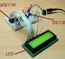 A Simple Clock using DS1307 and PIC16F877A