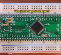STM32F4Stamp, a Breakout Board for STM32F4