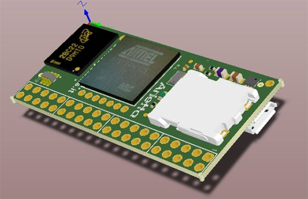 ACME Systems launched Arietta G25 a new micro Linux Board