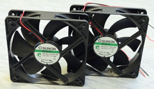 Choose a fan with a low noise and low power consumption