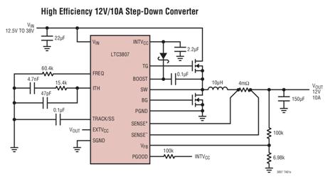 Low-loss Step-down Regulator
