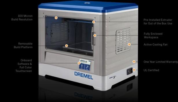 Dremel's New 3D Printer