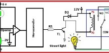 Automatic street light control by pic microcontroller