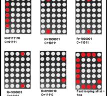Interfacing Dot Matrix led Display with PIC Microcontroller
