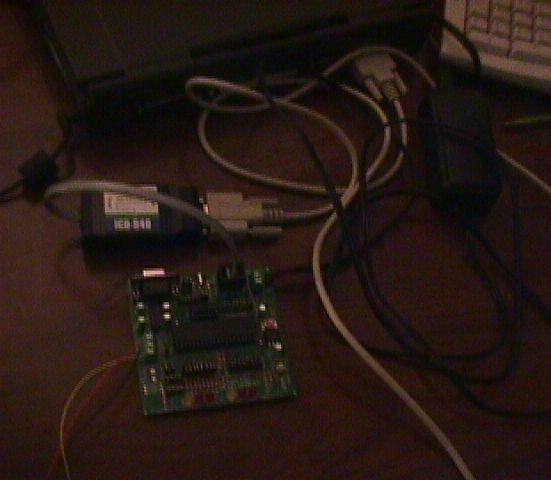 Microchip PIC16F877 Microcontroller