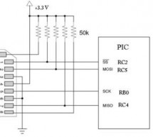 Interfacing with a Secure Digital (SD) card using pic-microcontroller