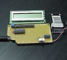 Electronic Distance Meter using pic microcontroller