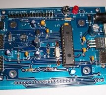PIC18F2550 Project Board using pic microcontroller
