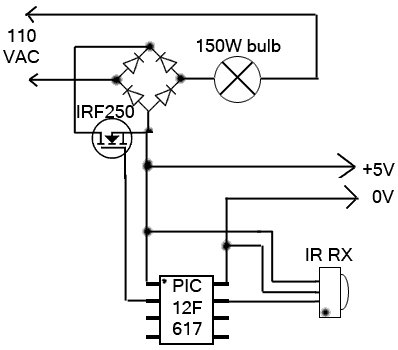 Remote-Control Light Dimmer