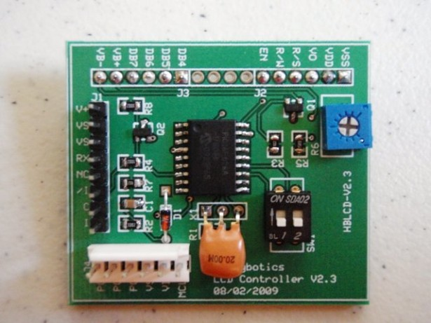 Serial LCD Controller