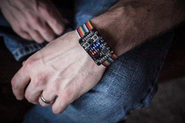 The Binary Wristwatch