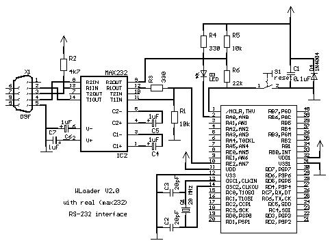 Wloader A 16f877 Application Loader Using Pic Microcontroller together with Volkswagen Rns 510 Pin Assignments also 6q27b Jeep Cherokee Transmission Control Module besides B00O07B6SO besides Cdc Protocols. on 6 pin connector diagram