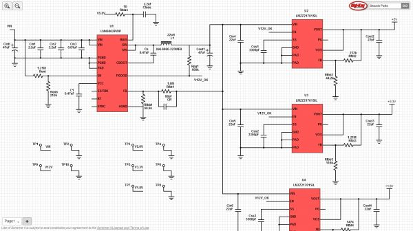 15V to 60V Wide Input Four-Output SIMPLE SWITCHER