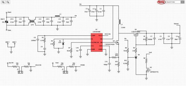 15W Automotive Start Stop Power Supply