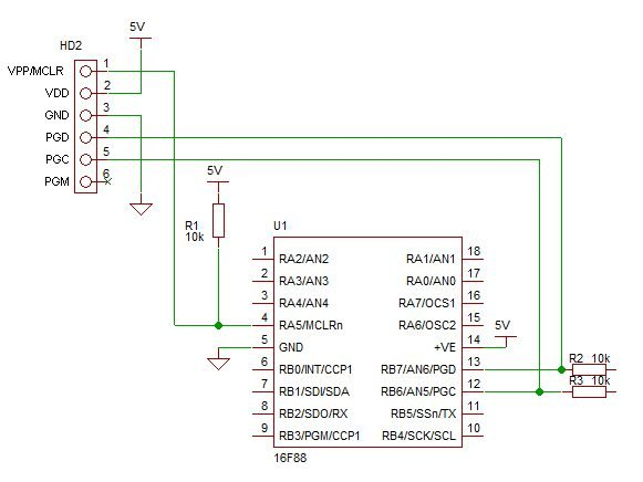 Details of PIC ICSP and how to use it for pic microcontrollers.