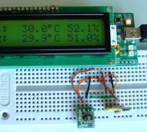 Humidity and temperature measurements with Sensirion's SHT1x/SHT7x sensors (Part 1) using pic microcontoller