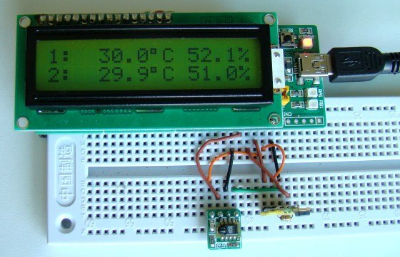 Humidity and temperature measurements with Sensirion's SHT1x SHT7x sensors (Part 1)