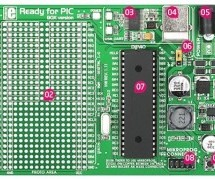 "MikroElektronika's ""Ready for PIC"" board talks to ""Processing"" using pic microcontoller"