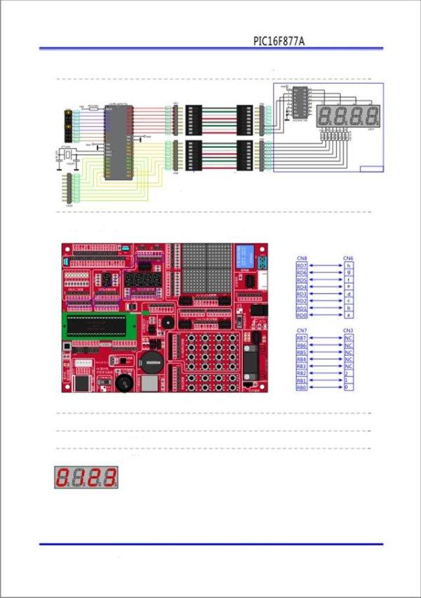 PIC microcontroller development board