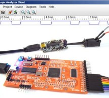 Prototype: Openbench Logic Sniffer logic analyzer using pic microcontoller
