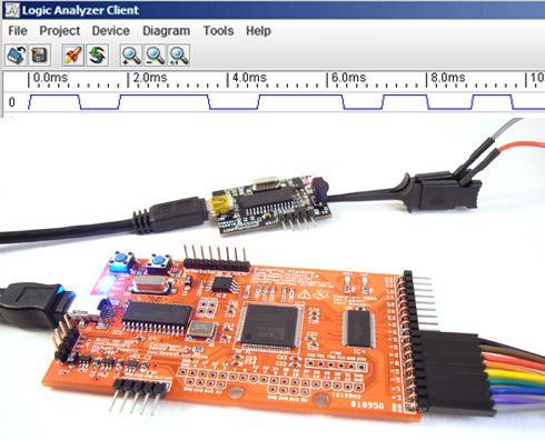Prototype Openbench Logic Sniffer logic analyzer
