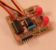 RC Servo Switcher using pic microcontoller