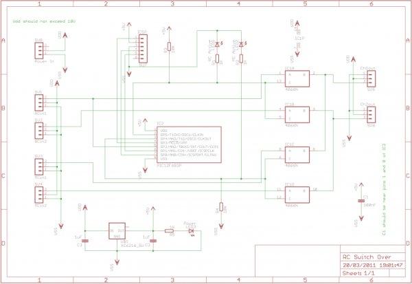 RC Servo Switcher