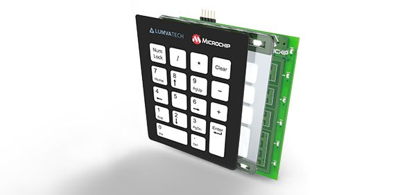 USB Keypad Demonstration - Crystal Free USB and mTouch™ Sensing Solutions