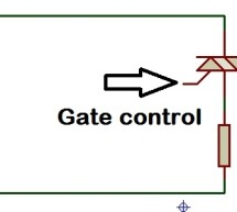 AC power control with thyristor using pic microcontroller