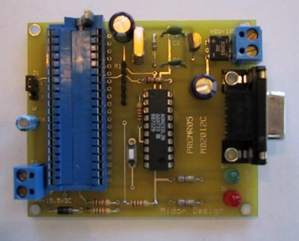 Build a Programmer for the 68HC705C8 MicroController