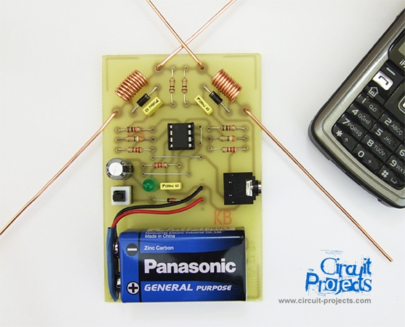 Cell Phone Detector Board