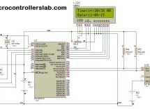 Digital clock ds1307 using PIC microcontroller